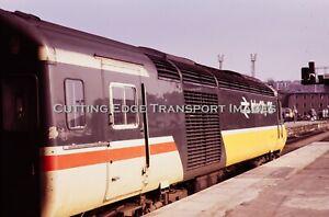Original Railway Slide: HST in Original Livery, Bristol TM, 1980s         27/150