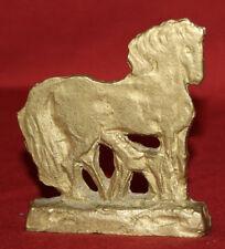 Vintage hand made bronze horse figurine