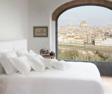 Signoria Firenze Tuscan Dreams Queen Flat Sheet - White