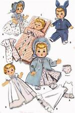 Ginette Tiny Tears Betsy Wetsy Dydee Doll Clothes PATTERNS 2183 size 13-14 inch