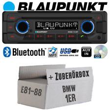Blaupunkt Autoradio für BMW 1er E81 E87 Bluetooth CD MP3 USB Einbauset PKW KFZ
