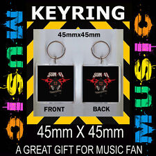 13 VOICES-SUM 41- - CD COVER KEYRING- 45X45mm KEY CHAIN