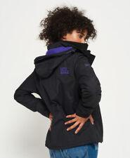 Superdry G50023zpf9 Veste de Sport Femme Nero (black Violet) Large