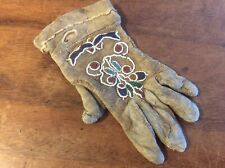19th Century Native American Indian Beadwork, Glove