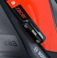 R&G Rear Foot Rest Blanking Plate Kit fits Aprilia Tuono V4 1100 2018