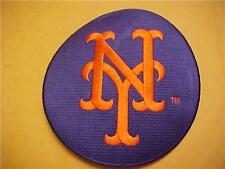 """Ny Mets 5"""" Fully Embroidered Circle Patch"""