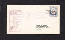 2 Niuafoou TONGA 1934 Cancels Tin Can Canoe Mail SS City LA South Seas Cruise z6