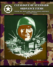 WWII ARMY CATALOG OF ORDNANCE ITEMS Vol. 3 & 4  SMALL ARMS & AMMUNITION