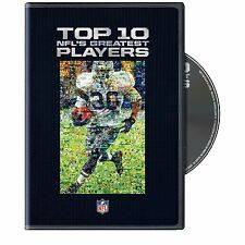 NFL DVD Top 10 Nfl's Greatest Players american football super bowl  NEW  SEALED