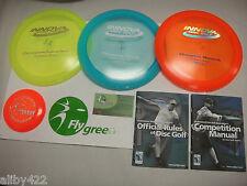 Innova Deluxe Champion Plastic 3 Disc Ultimate Golf Disk Set Starter 2 Advanced