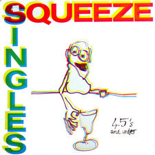 Squeeze Singles 45's And Under NED Press 1982 LP