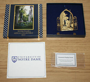 University Notre Dame Annual Collectible 2013, Christmas Ornament, Father Corby