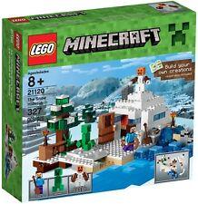 LEGO Minecraft 21120 BNIB the Snow Hideout BNIB Steve Creeper Snow Golem