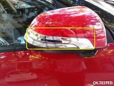 CAR DOOR SIDE MIRROR CHROME TRIM STRIP - TATA NEXON (SET OF 2 PCS)