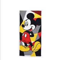 Disney Mickey Mouse Multi Color Beach Towel by Jumping Beans 28'' x 58'' NWT