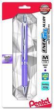 Pentel EnerGel Alloy RT Retractable Gel Pen - Violet Barrel 0.7mm - Violet Ink