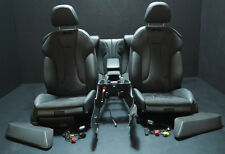 ORIGINALE Audi a3 8v CABRIO SPORT ALLESTIMENTI INTERNI SEDILI IN PELLE ALCANTARA NERO