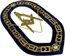Blue Lodge Working Tool Golden Collar Chain + Junior Deacon Pendant DMR-400GB+JD