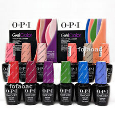 OPI GelColor Nail Polish Gel GC A/ B /C /D Collection 15ml New