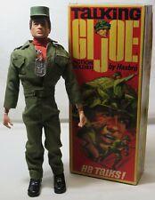 Vintage Hasbro GI Joe Talking Action Soldier W/ Original Box # 7590