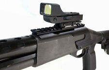 Red dot sight and rail mount for Remington 870 12 gauge pump