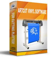 Artcut Software Vinyl Cutter Plotter 2009 Pro Sign Making Create Refine Roland