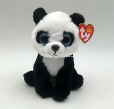 "New Ty Beanie Boos 6"" Ming the Panda Bear Plush Stuffed Animals Toy Girl Gift"