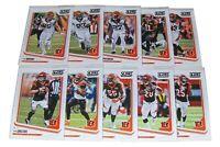 Score 2018 CINCINNATI BENGALS Football Trading Cards Team Set NFL