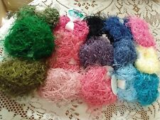 "Dark Horse ""Wink"" eyelash yarn, 15 great color choices,including metallic Look!"
