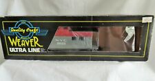 Weaver Ultra Line NYC Pacemaker Caboose 3-Rail #20133 New In Box