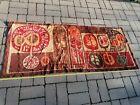 Mid Century Carpet Rug Runner Tapestry Wall Hanging 60 years old VINTAGE