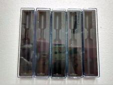 Lot of 5 - Pen box lot - plastic pen case - Parker - empty boxes -Free Shipping