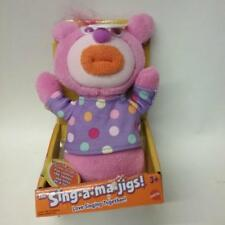 The Sing-a-ma-jigs Purple singing Plush Mattel Fisher-Price NOS