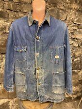 New listing 1950s Vintage Hercules Denim Chore Coat Workwear Jacket Blanket Lined