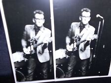2 photo postcards ELVIS COSTELLO, New York, 1977 photo by Stephanie Chernikowski