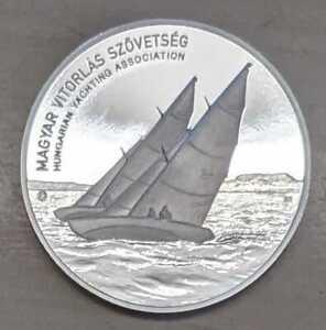 Ungarn Medaille anläßlich der 50. Segelregatta 2018 auf dem Balaton PP