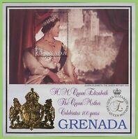 Grenada 2000 Queen Mother(1953 potrait) 100th Birthday miniature sheet MNH