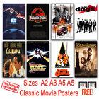 CLASSIC MOVIES Poster Photo Print Film Cinema Home Wall  Deco Art  A3 A4 A5