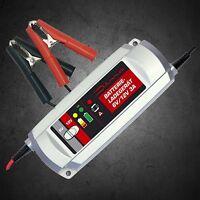 Dino Batterie Ladegerät 6V/12V vollautomatisch 3-Stufen / Autobatterie 136301
