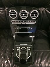 Mercedes C Class W205 Center Console Black Gloss Vents whit  FULL A2056803208