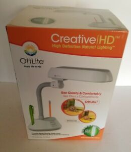 Ottlite Creative HD Natural Lighting MODEL U15WG8  NEW IN BOX