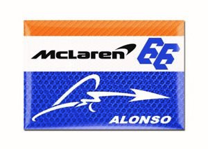 #66 Fernando Alonso McLaren Racing Magnet 2019 Indianapolis 500 IndyCar