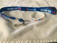 Carnival Cruise Lines Two Sets.Behind The Fun Lanyards And Wristbands