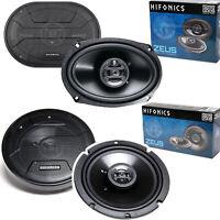 2x Hifonics ZS693 6x9 inch 400 WATT + 2x ZS65CXS Car Audio Coaxial Speaker