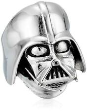 Han Cholo Star Wars Adult Mens Sz 11 Darth Vader Ring Silver Stainless Steel New