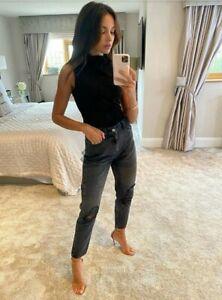 Michelle Keegan Classic Mom Jean  - Grey Size 10