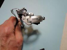 Shimano XT FD-M750 top pull 31.8mm front derailleur ~ 9-speed