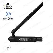 PENNA ANTENNA TRASMETTITORE DMX 512 PER APPARECCHI CENTRALINE LED 2.4GHz WIFI