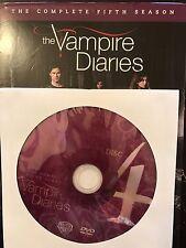 The Vampire Diaries - Season 5, Disc 4 REPLACEMENT DISC (not full season)