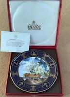 Spode ~ The Battle of Trafalgar 1805 ~ Maritime England Plate boxed certificated